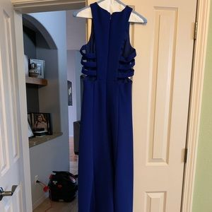Royal Blue BCBG Dress.  High Low.